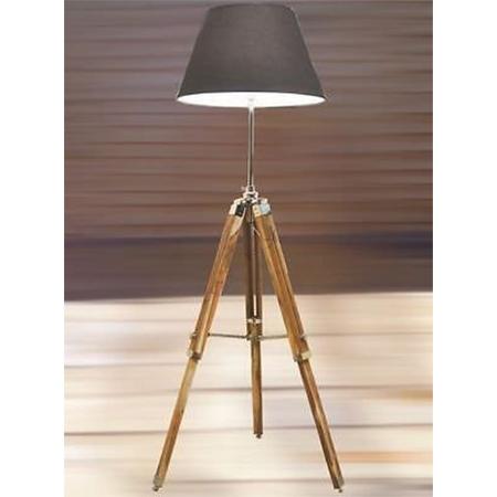 Marine Antique Tripod Floor Lamp Stand