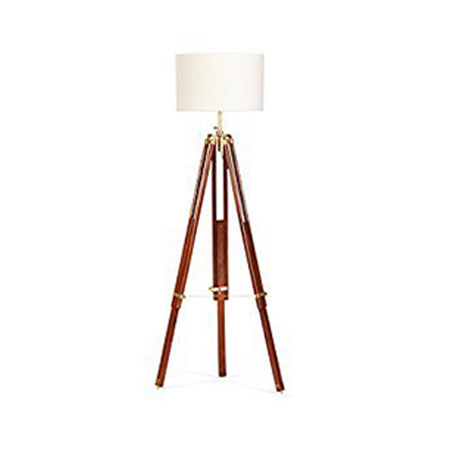 Nautical Designer Floor Lamp  With Tripod Stand