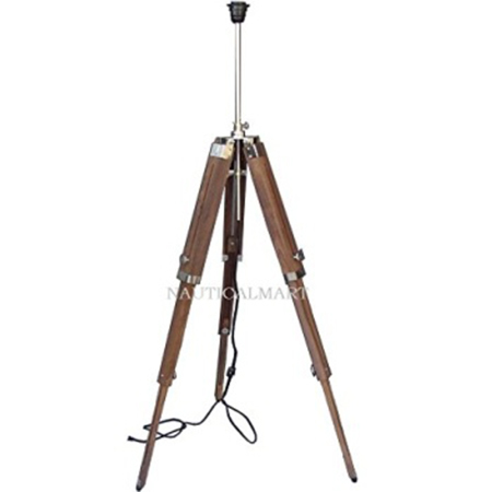 Nautical Designer Floor Lamp Tripod Stand