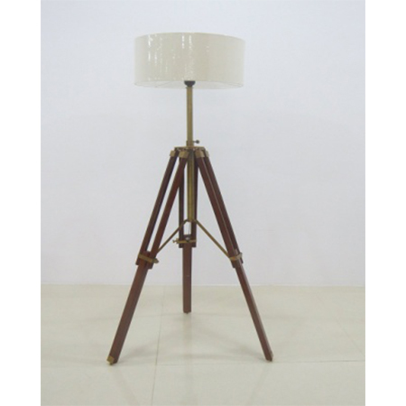 Designer Floor Lamp With Tripod Stand