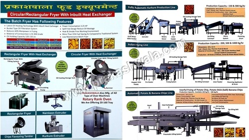Automatic food processing equipment