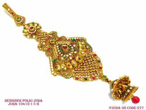 Antique Designer Polki Juda