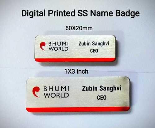 Metal Name Badge