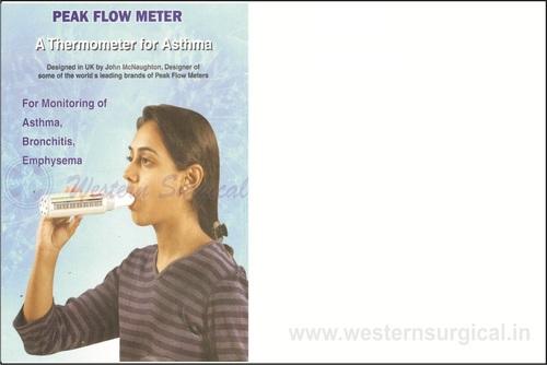 Peak Flow Meter