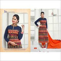 First choice-9 Georgette handwork party wear suit