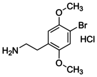 4-Bromo-2,5-dimethoxyphenethylamine hydrochloride solution