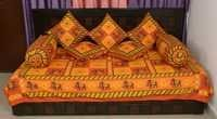 Rajasthani Printed Deewan Set