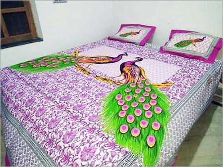 Peacock Print Bedsheets