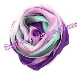 Silk Ombre Dyed Plain Color Scarves