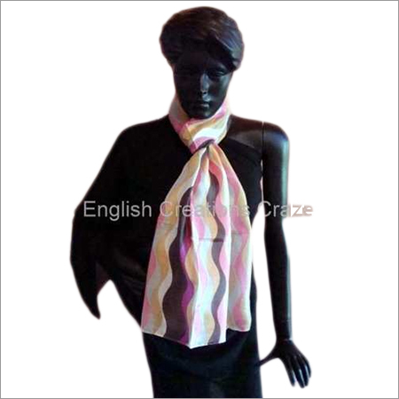 Indian Pure Silk Magical Lines Printed Stoles