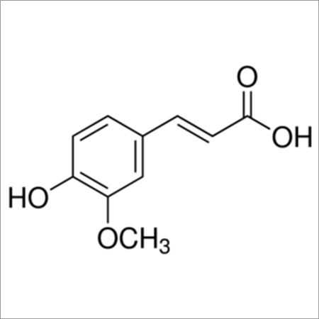 4-Hydroxy-3-methoxycinnamic acid