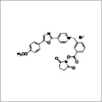 1-[3-(Succinimidyloxycarbonyl)benzyl]-4-[5-(4-methoxyphenyl)-2-oxazolyl]pyridinium bromide