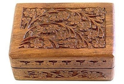 Beautiful Wooden Handcraft Box