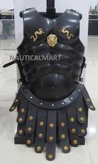 Medieval Knight Steel Muscle Armor Breastplate