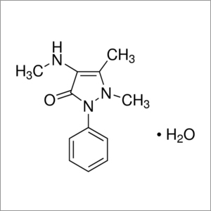 4-Methylaminoantipyrine monohydrate