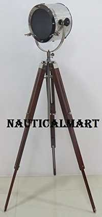 Designer Search Light With Tripod Floor Lamp Stand