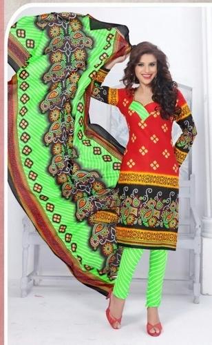 Printed Dress Materials Jetpur