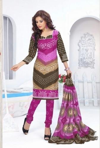 Cotton Printed Dress Jetpur
