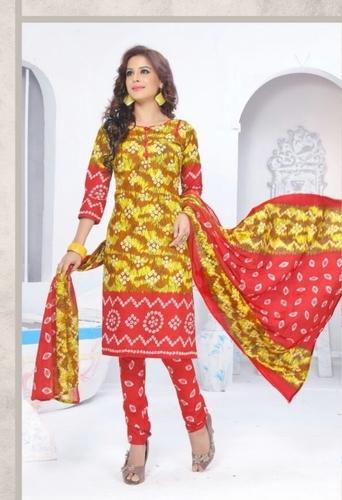 Cotton Dress Materials Wholesale Jetpur