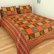 Jaipuri Patola Bed Sheet