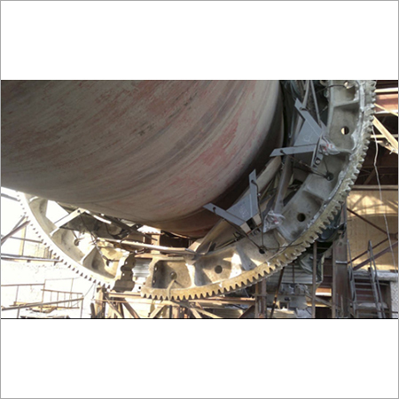 Kiln Girth Gear Alignment Services