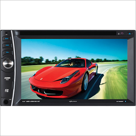 Double Din Car Monitor