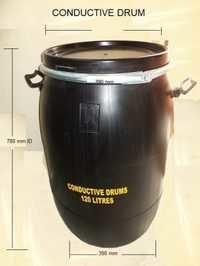 Conductive HDPE Drum