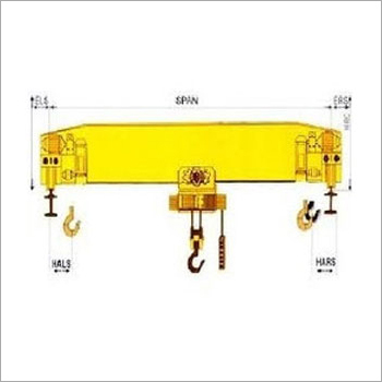 Industrial Single Beam EOT Crane