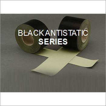 PTFE Coated Fiber Glass Fabrics - Adhesive Blackantistatic Series
