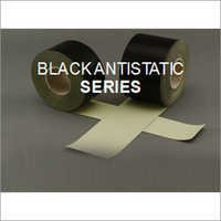 PTFE Coated Fiber Glass Fabrics - Adhesive Blackantistatic Series
