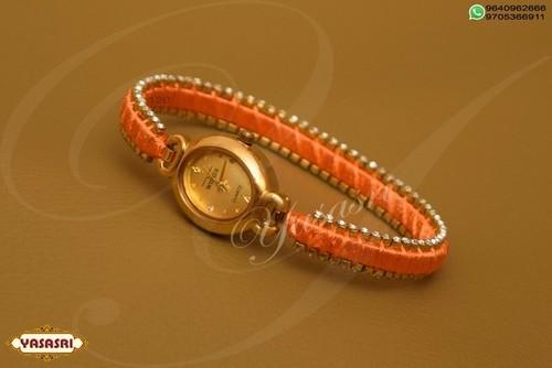 Crossandra Color Threaded Watch