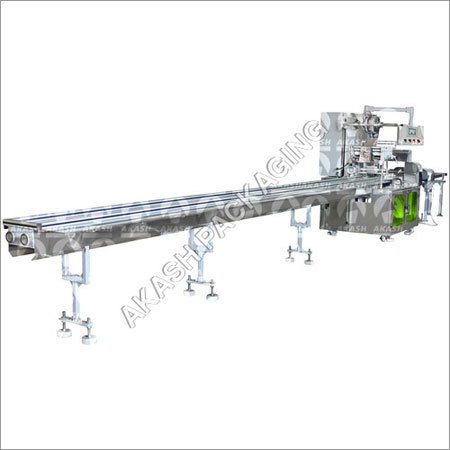 Fully Automatic Servo Flow Wrap Machine