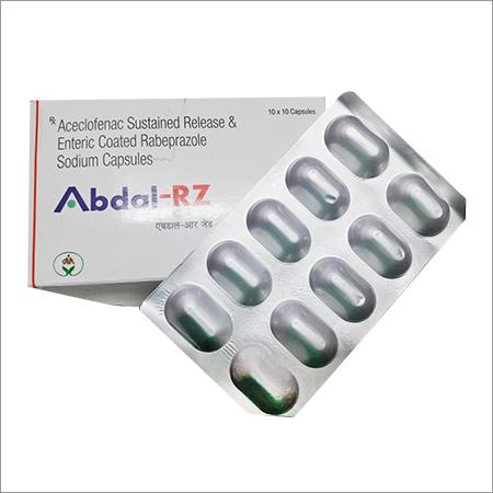 Aceclofenac & Rabeprazole Sodium Capsules