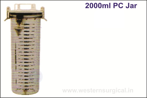 2000 ml PC JAR