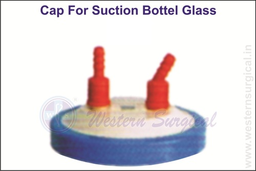 Cap For Suction Bottle Glass