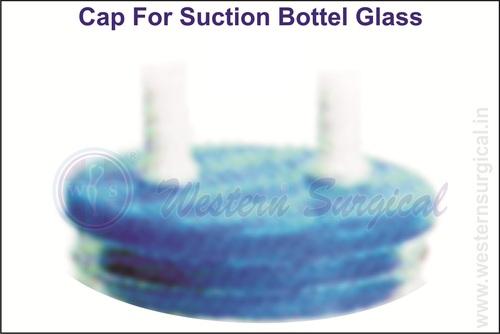 Cap For Suction Bottle Glass