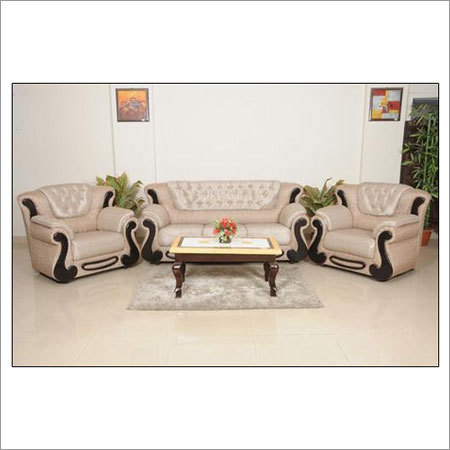 Modern Fabric Sofa Set