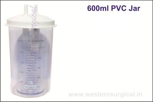 600 Ml PVC Jar