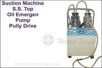 Suction Machine S.S. Top Oil Emrgen Pump Pully