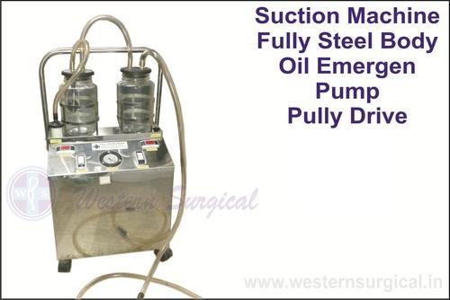 Suction Machine Fully Steel Body Oil Emergen Pump