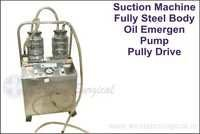 Suction Machine Fully Steel Body Oil Emergen Pump