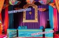 Mehandi Stage Decoration For Wedding