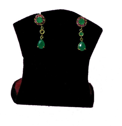Red & Green Earrings
