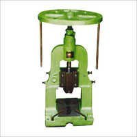 Hand and Foot Operated Paper Plate Machine