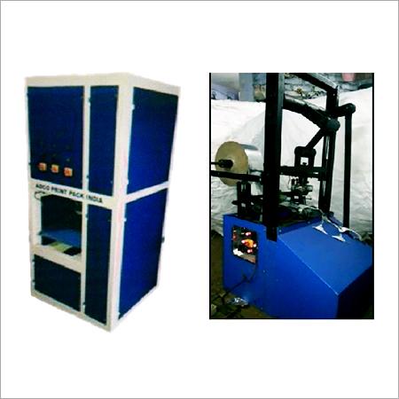 Single Die Thali Crank Machine