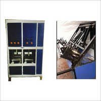Double Die Thali Crank Machine