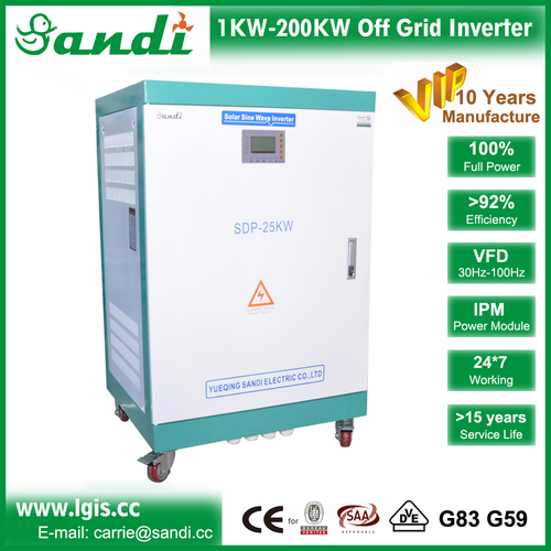 380V-440V Off Grid Inverter With Ac Bypass Input