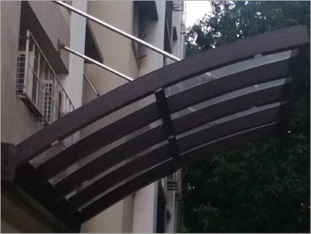 Glass Porch Canopy
