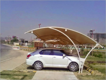 PVC Car Parking Shade