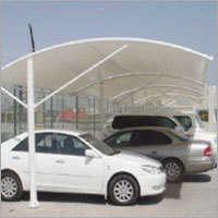 Tensile Fabric Car Parking Shade